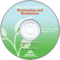New Life Perspectives CD: Restoration And Restitution
