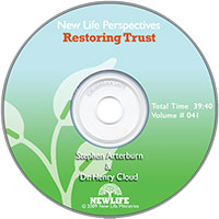 New Life Perspectives CD: Restoring Trust